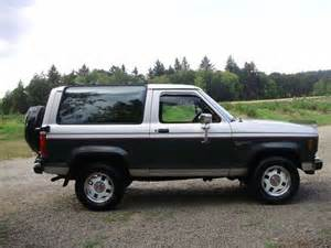1987 Ford Bronco Ii Sell Used 1987 Ford Bronco Ii Xlt 2dr Elderly One Owner