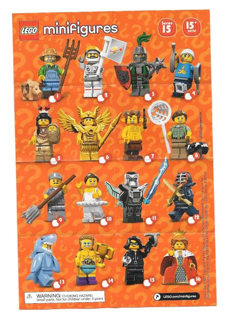 Minifigures Series 15 Limited 1 with bricks lego series 15 minifigures review