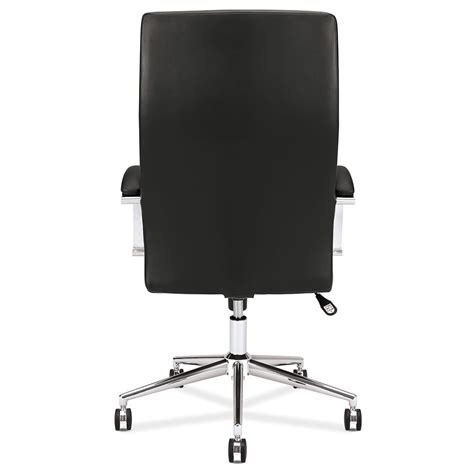 back of a victory black modern office chair eurway furniture