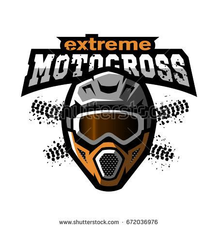 motocross racing logo motocross vector stock images royalty free images