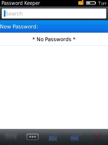Reset Blackberry Password Keeper | how to set up and use blackberry password keeper inside
