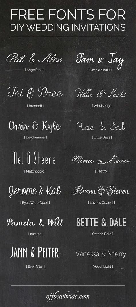 Best 25  Invitation fonts ideas on Pinterest   Wedding