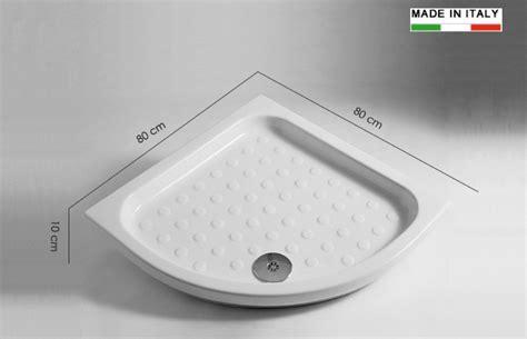piatti doccia angolari cerchi piatto doccia angolare 80x80 h11638 ia scelta