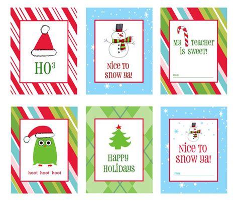 Printable Kris Kringle Tags | 41 sets of free printable christmas gift tags
