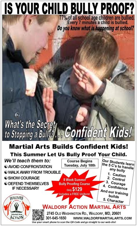 bully ology how to use martial arts to stand up for yourself defeat bullies and show the world what you can do books bully buster summer martial arts course waldorf martial arts