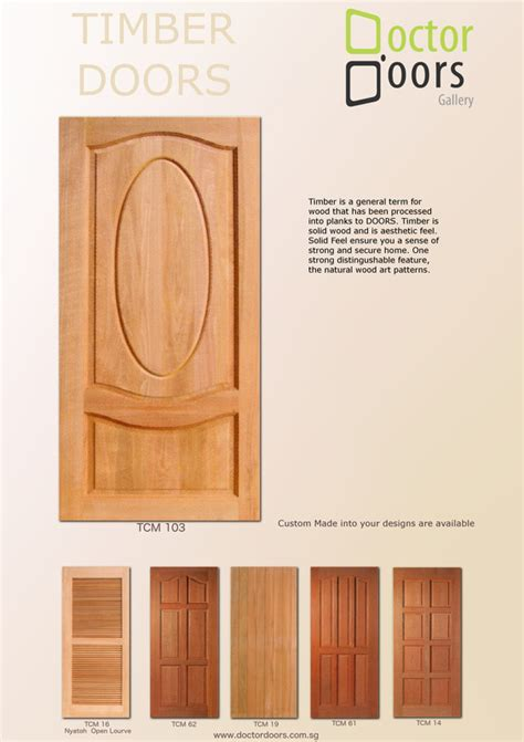 Bedroom Lock wooden doors doctor doors decor pte ltd