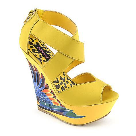 dollhouse paradise platform wedge dress shoe