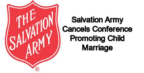Salvation Army Marriage Records Salvation Army Cancels Conference Promoting Child Marriage