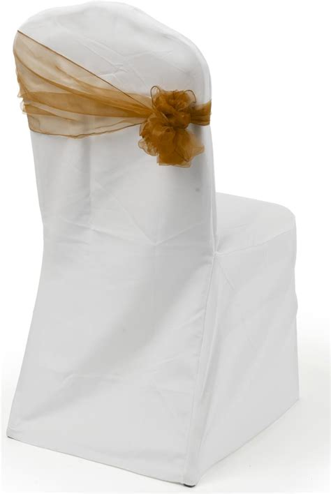Chair Sashes by Chocolate Organza Chair Sashes Set Of 10 Ties