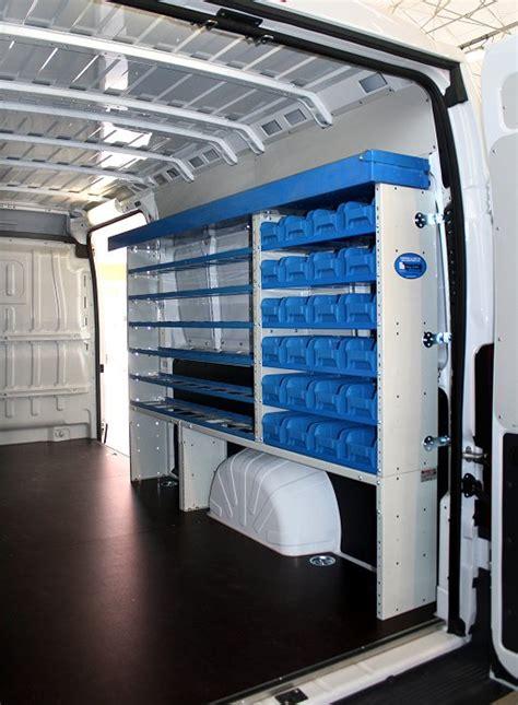 scaffali usati per furgoni allestimento con scaffali usati per fiat ducato