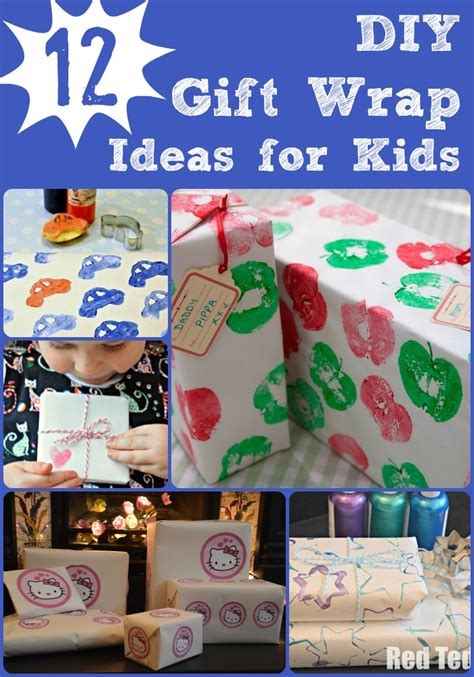 Handmade Wrapping Paper Ideas - diy wrapping paper ideas ted s