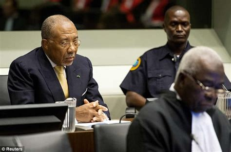 ex president of liberia aided war crimes court rules charles taylor sentenced to 50 years for sierra leone war