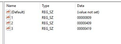 keyboard layout us registry can t remove a keyboard layout in windows 10 microsoft