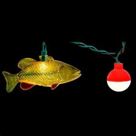 String Fish - 10 light string of fish novelty light set 910 the home depot