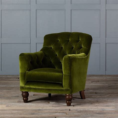 velvet armchair tufted glove velvet armchair by authentic furniture
