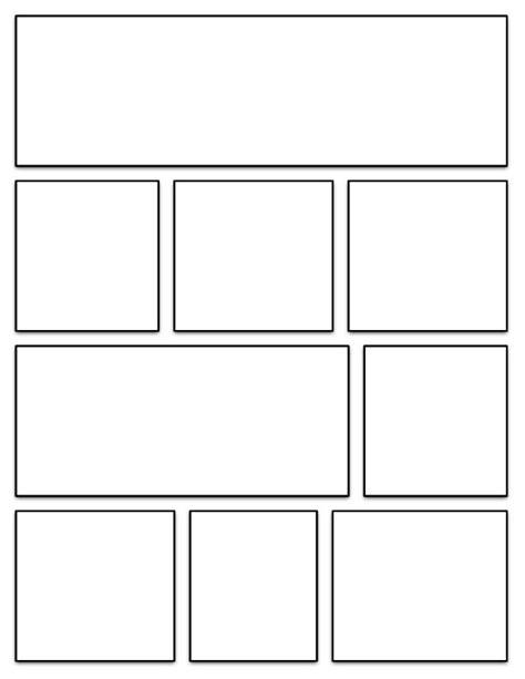 graphic novel template | Exhibits: Belle Yang | Pinterest