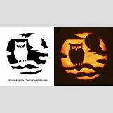 Owl Pumpkin Stencils | 600 x 313 jpeg 33kB