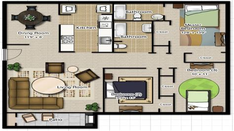 floor plan for 3 bedroom 2 bath house 3 bedroom 2 bathroom house plans 3 bedroom 2 bathroom floor plans 3 bedroom cottage