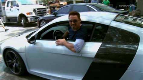 Video: Audi R8 e tron Gets Lead Billing In Iron Man 3, And