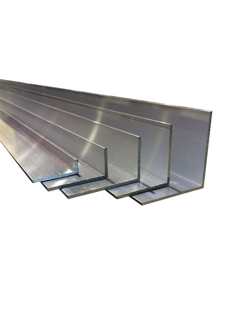 Aluminium Angle Up To 2 M Alloy Profile L Section Aluminum