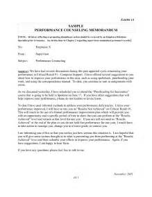 counseling memo template sle letter of recommendation air bestsellerbookdb