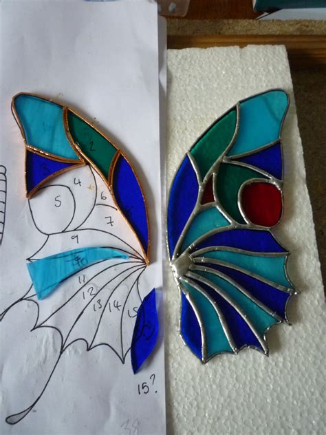 Stained Glass Butterfly L by Stained Glass Butterfly Wip By L1vethedream On Deviantart