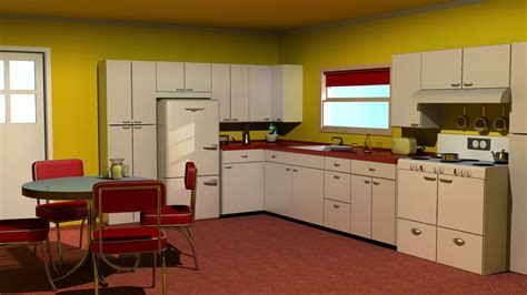 S Kitchen by 1950s Kitchen Style Afreakatheart