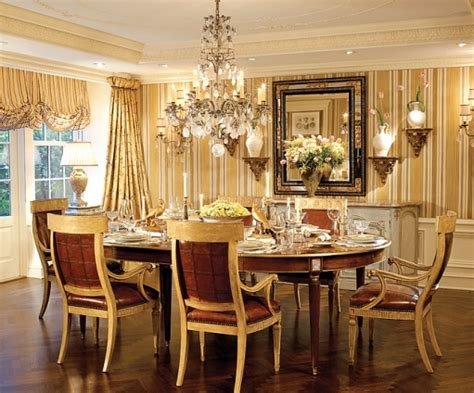gold wallpaper dining room the enchanted home gilded in gold gorgeous