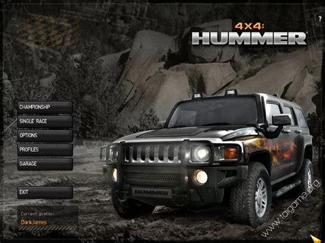 hummer   full games racing games