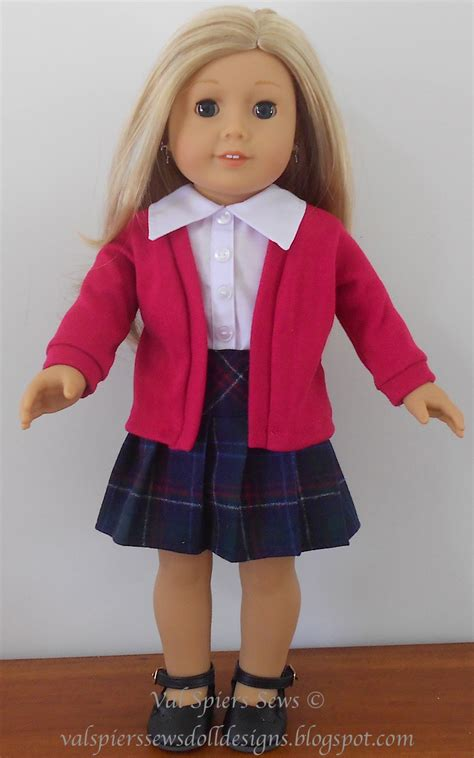 clothes pattern for american girl doll doll clothes patterns by valspierssews how to make a