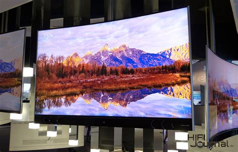 Tv Tcl ifa 2016 tcl xclusive x1 65 curved 4k tv hifi journal