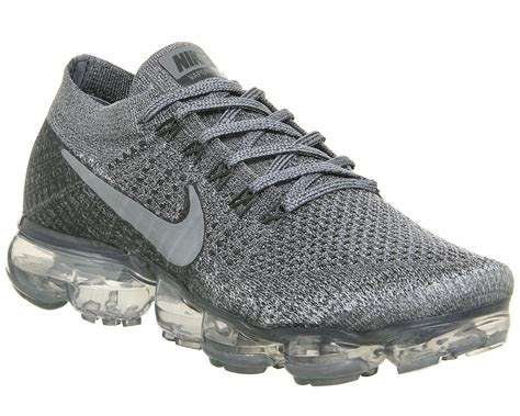 Nike Air Vapormax Flyknit Cool Grey nike nike air vapormax flyknit cool grey grey f
