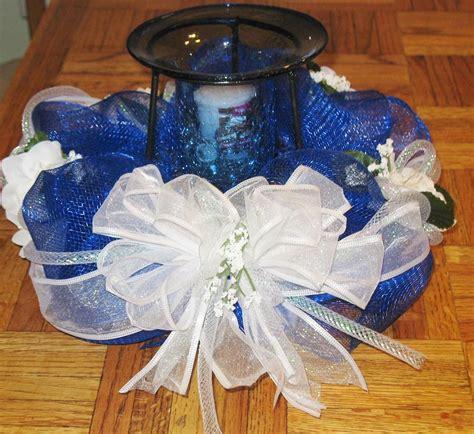 deco table centerpieces deco mesh candle centerpiece deco mesh wreaths and