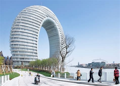 famous modern architects sheraton huzhou hot spring resort by mad architects
