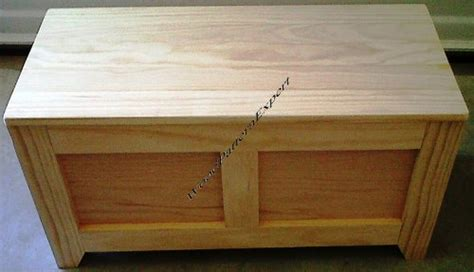 wood pattern expert cedar chest paper plans so easy beginners look like
