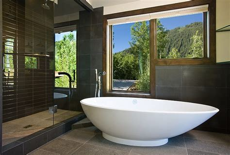 Modern Master Bathrooms Modern Master Bath Colorado Decorative Materials