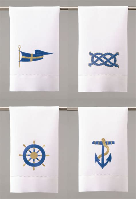 linen guest towels for bathroom nautical gifts nautical linen boat style