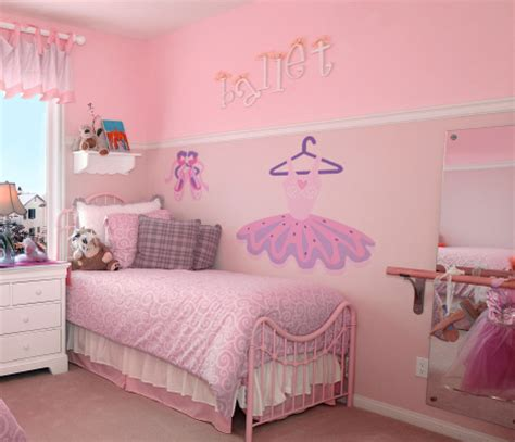 murals for girls bedroom ballet room theme off the wall