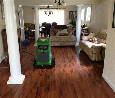 flooded room water damage cleanup repair and restoration servpro of norfolk west