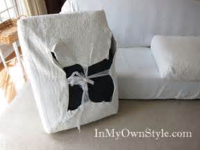 Replacement Couch Cushions How To Cover A Chair Or Sofa With A Loose Fit Slipcover