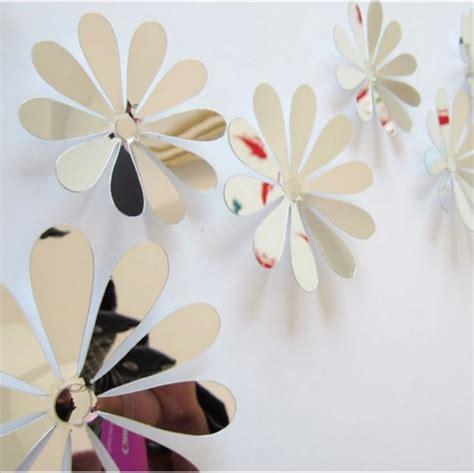 Wallpaper Dinding Motif Bunga 3d jual wallpaper bunga hiasan dinding bunga 3d motif kaca