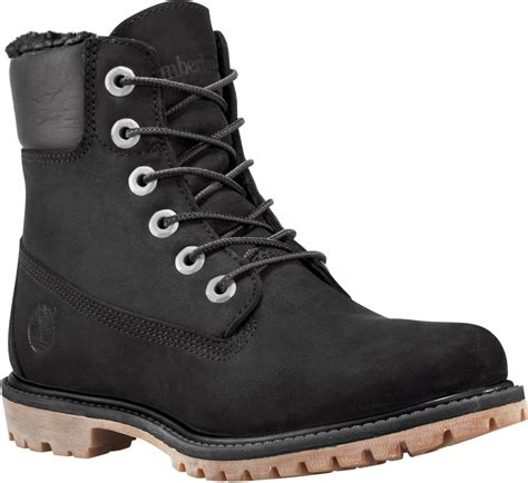 timberland boots womans timberland s 6 inch premium fleece lined free