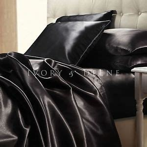 Black Satin Bed Set 17 Best Images About Bed Steff On Pinterest Quilt Satin And Duvet Covers