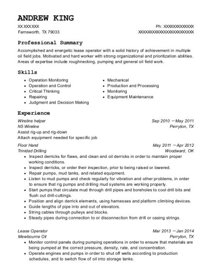 100 resume for field worker and gas resume templates sles u0026 exles resume