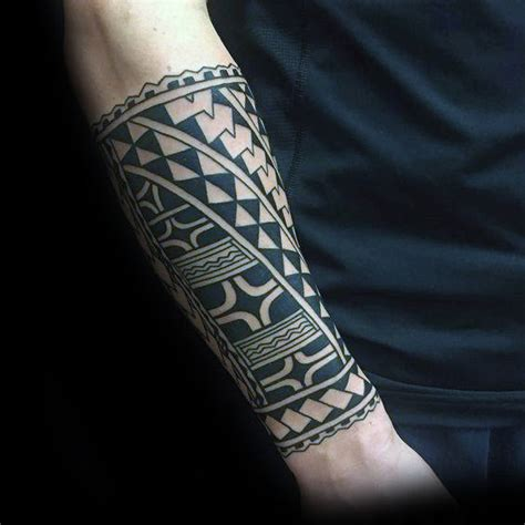 forearm sleeve tattoo ideas for men 60 tribal forearm tattoos for manly ink design ideas