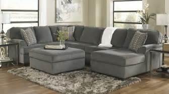 Serta Upholstery Loric Smoke Cuddler Sectional By Ashley Furniture