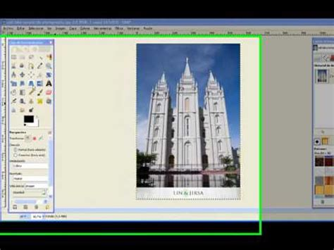 tutorial gimp español tutorial gimp espa 241 ol 4 herramientas transformaci 243 n ii
