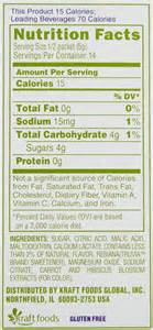 crystal light lemonade nutrition facts » Lamps and lighting
