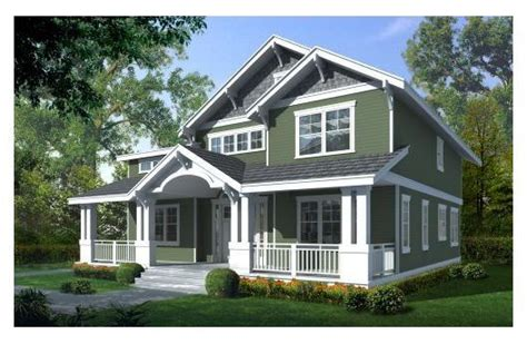 Craftsman House And Porches On Pinterest House Plans With Upstairs Porch