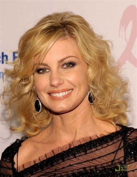 faith hill hair cuts 2014 feminine trendy hairstyle 80 s curls on medium long